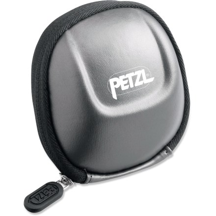 Camp and Hike Protect your Petzl headlamp from damaging impacts and scrapes with the Petzl Poche Tikka(R) 2 headlamp pouch. - $16.95