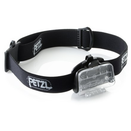 Camp and Hike The Petzl Adapt Tikka 2 mounting system allows your Petzl headlamp to be quickly and easily detached from the headband and attached to mounts placed on a helmet, belt or strap of a backpack. - $14.93