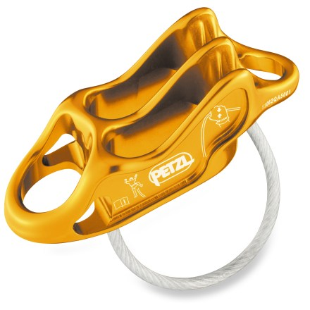 Climbing At only 59g, the Petzl Reverso 4 belay device is 25% lighter than the previous version yet offers the same versatility for belaying and rappelling. - $23.93