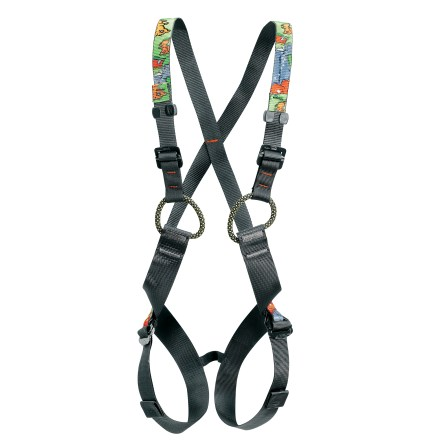 Climbing Little tykes have you climbing the walls? Turn the tables on them with this Petzl Simba full-body climbing harness made to fit 5 to 10 year olds. - $59.95