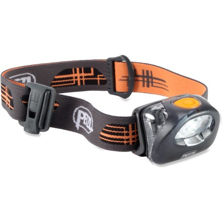 Camp and Hike Don't let the small size fool you! The Petzl Tikka XP 2 headlamp packs a punch, with a powerful and adjustable beam, white and red LEDs, tilt head and battery-status indicator. - $40.93