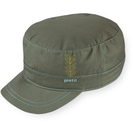 Camp and Hike Wear it to stroll through town or take a quick hike. The Pistil Ranger hat has a classic military look that combines with contemporary styling. Includes embroidery detail on the side. Rip-and-stick closure in back adjusts the fit of the Pistil Ranger hat. - $17.93
