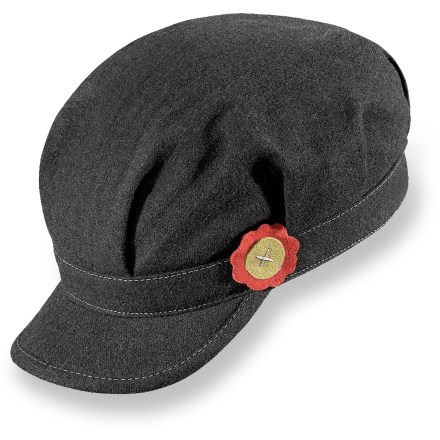 Entertainment The Pistil Lena cap adds the finishing touch to your winter wardrobe. Wool/polyester blend is soft and warm; polyester lining is comfortable next to skin. Visor shield your eyes from sun rays and snowflakes. - $16.83