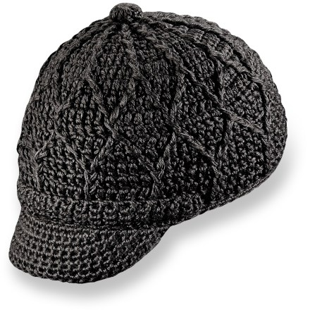 Entertainment You'll be looking good this winter with the hand-knit Pistil Jax Visor beanie. - $32.00