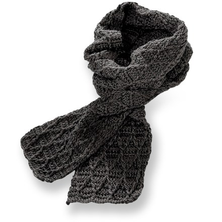 The Pistil Jax scarf features a soft knit pattern that will add the final touches to your outfit. Cozy diamond-knit acrylic brings soothing warmth to a cool afternoon. - $7.83