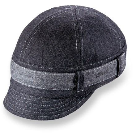 Entertainment The jockey-inspired Pistil Parker Fall hat will add a burst of personality to your outfit. Made of warm wool that is lined with polyester for great comfort. Contrasting band and short brim add style. Hand wash in cold water, lay flat to dry. The Pistil Parker Fall hat has an elastic back to accommodate most head sizes. - $16.83