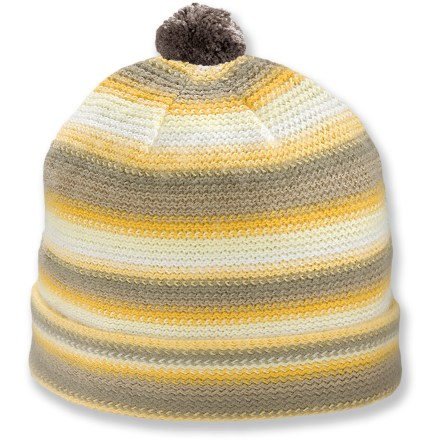 Ski Dress her for cold weather with the Pistil Lucky hat. Soft acrylic provides the warmth of wool without the itch, and it dries quickly. Closeout. - $6.83