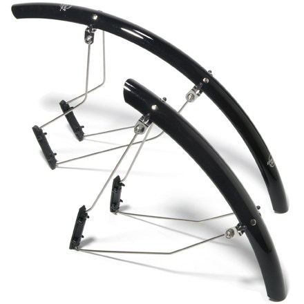 Fitness This road fender set is quick and easy to mount--plus the fenders are extra lightweight and durable. - $45.00