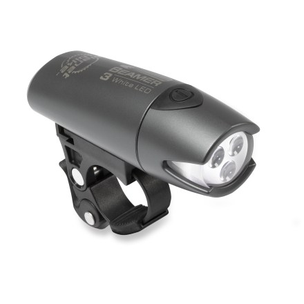 Fitness This safety headlight offers three bright white LEDs that make you visible and help light your way. - $17.93