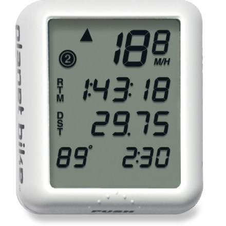 Fitness The Planet Bike Protege 9.0 bike computer is all you need to keep track of your car-free miles during commutes, training rides and touring trips. - $35.00