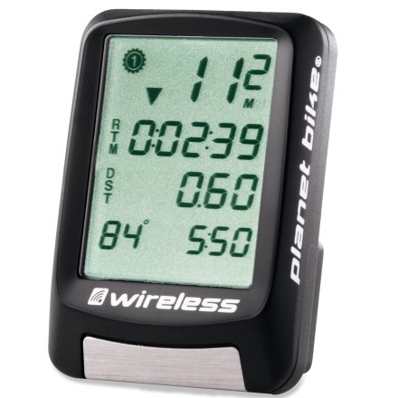 Fitness The Planet Bike Protege 9.0 wireless bike computer is all you need to keep track of your car-free miles during commutes, training rides and touring trips. - $55.00
