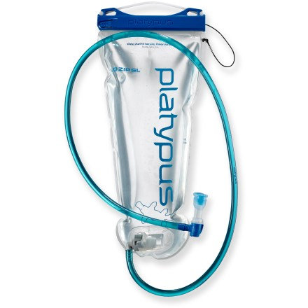Camp and Hike The widemouth Platypus Big Zip SL 1.8 liter reservoir is easy to clean and easy to fill. - $18.83