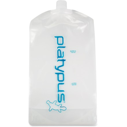 Camp and Hike The taste-free Platypus Platy(TM) water bottle with screw cap is an excellent option for bringing 70 fl. oz. of water on your backcountry adventures. - $12.95