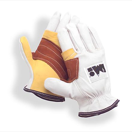 Climbing Guard your hands from rope friction with these lightweight PMI goatskin leather rappel gloves. - $22.93