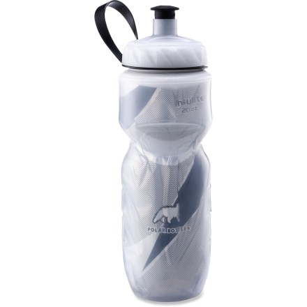 Fitness The Polar 20 fl. oz. insulated bottle keeps beverages ice cold during long, hot bike rides or hikes. - $7.93
