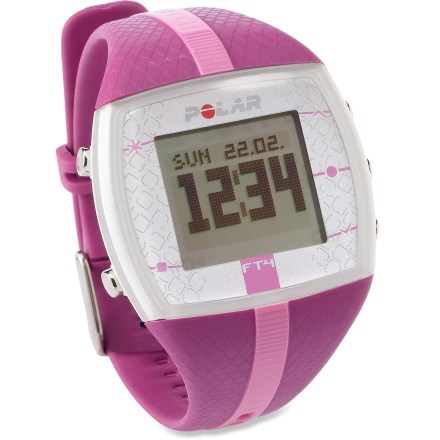 Fitness Easy to use and comfortable to wear, the Polar FT4 heart rate monitor for women will help you improve your fitness level. - $59.93