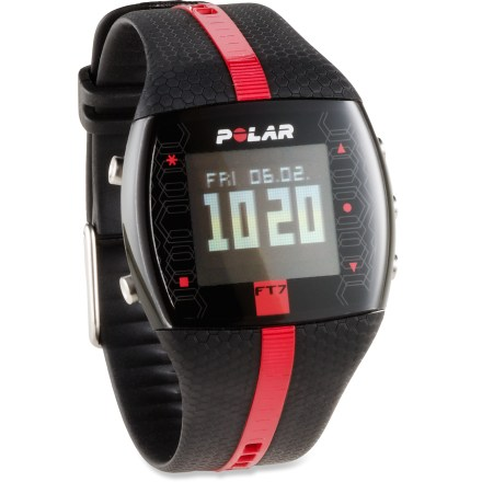 Fitness The Polar FT7 heart rate monitor keeps track of your aerobic activity and can help you burn fat and improve your fitness level. - $53.93