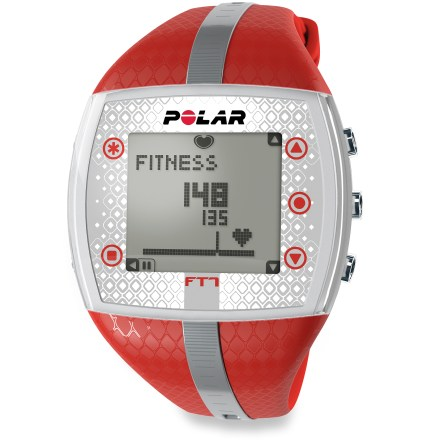 Fitness The women's Polar FT7 heart rate monitor keeps track of your aerobic activity and can help you burn fat and improve your fitness level. - $21.83