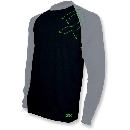 The Polarmax PMX Crew top goes on easy and is a perfect base layer for cold-weather activities. Polyester fabric is moisture wicking and quick drying. Flatlock seams maximize motion and minimize abrasion. Closeout. - $12.83