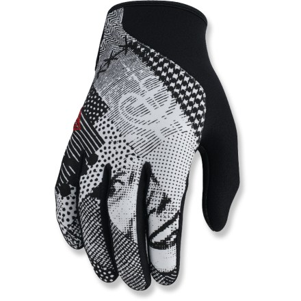Ski The POW Gloves Crail gloves are great whether worn alone or under waterproof shell gloves. Soft-shell and neoprene fabric stretches to fit, and is water resistant. Closeout. - $18.83