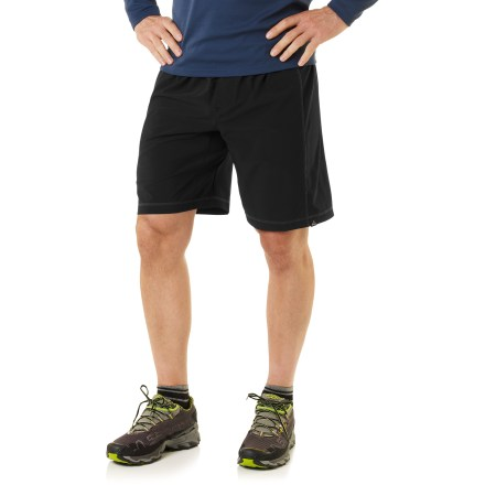 Climbing Whether you use them during challenging, teeth-gnashing climbs or during an easy jog around the neighborhood, the prAna Flex shorts are perfect for just about any kind of activity. - $29.83