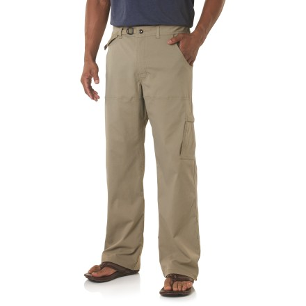 Camp and Hike Put the prAna Stretch Zion pants to the test on your next climbing trip, trail hike or globe-trotting adventure. - $54.93