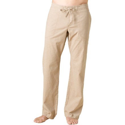 Climbing Lightweight yet hardy enough for yoga and bouldering, the prAna Sutra pants keep you equally comfortable on rock walls, studio mats and post workout trips to the coffee shop. - $70.00