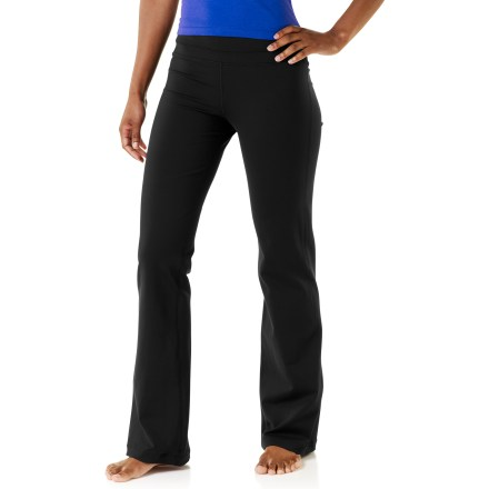 Fitness The prAna Audrey pants hug your hips and will keep you motivated to advance your yoga or Pilates practice. - $57.93
