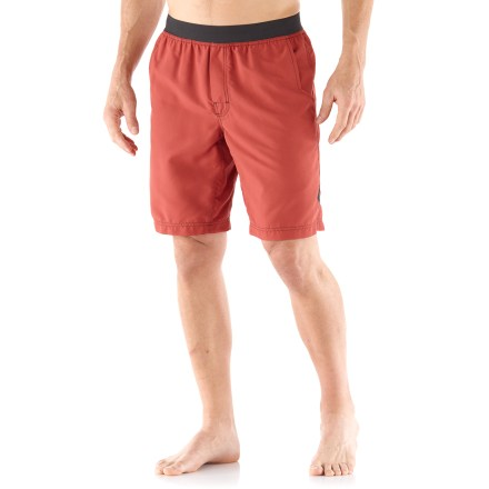 Climbing Great for climbing, yoga and other outdoor activities, these durable shorts are designed for smooth, unrestricted movement. - $50.00