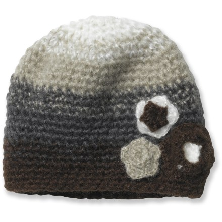 Ski Warm and cute, the prAna Fade beanie goes on easy for all-day wear when the weather turns cold. Cozy acrylic keeps you warm without being itchy or uncomfortable. Closeout. - $11.83