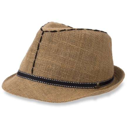 The comfortable prAna Chloe Fedora brings new style to your warm-weather outfit. Airy straw hat is perfect for summertime. Includes a twill hat band and a metal prAna logo. - $30.93