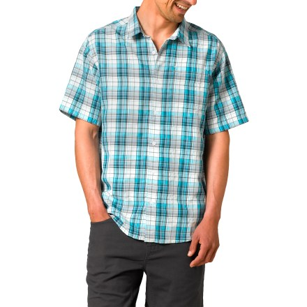Entertainment The stretchy, lightweight prAna Vincent shirt resists wrinkles, making it perfect for travel-just take it out of the bag, hang and wear! - $32.73