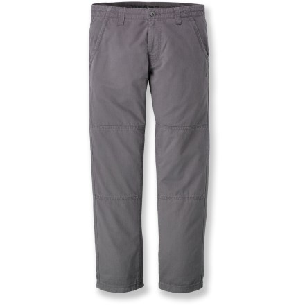 Climbing Whether your day includes a trip to the climbing gym or a casual stroll around town, the prAna Freemont pants ensure you'll look and feel good throughout the adventure. These have a 30 in. inseam. Bedford cord cotton fabric has a soft hand for excellent comfort. Inseam gusset allows unrestricted range of motion. The prAna Freemont pants have reinforced pockets and rear hems to ensure long-lasting wear. - $29.83