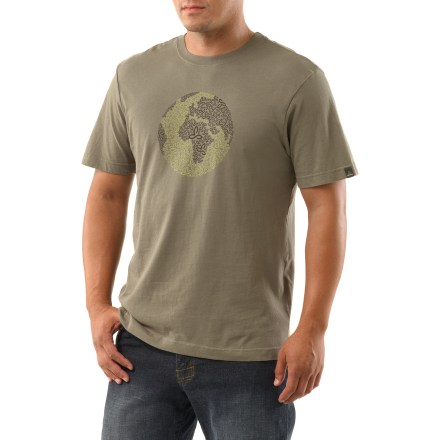 Feel good about the clothes you wear with the prAna Global Fair Trade T-shirt. Jersey fabric uses cotton that is organically grown and free of pesticides. Shirt is Fair Trade Certified(TM), ensuring it meets certain environmental, labor and development standards. - $27.93
