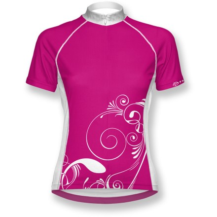 Fitness Blending equal parts fit, function and fashion, this Primal Wear Modest women's bike jersey was designed with a keen eye for cycling performance. - $9.73