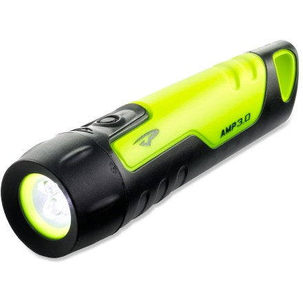 Camp and Hike The compact Princeton Tec Amp(TM) 3.0 LED flashlight stows easily in a pack pocket or car glove compartment, providing reliable light whenever you need it. - $11.83