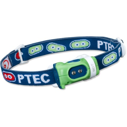Camp and Hike Small, simple and ready for outdoor family adventures, this dual LED headlamp lights the way for little ones, helping them keep up on early evening walks and navigate safely around campsites. - $11.93