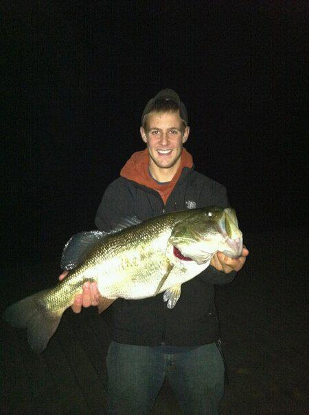 9 lb 24 5 largemouth bass night fishing on ivy lake in