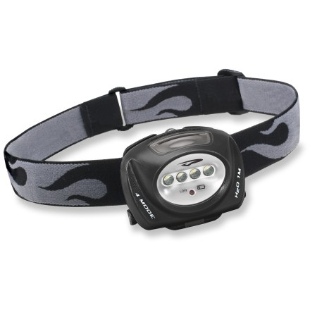 Camp and Hike The Princeton Tec Quad Headlamp brings simplicity and versatility to your adventures. It's a great choice for nighttime trail running and general use around camp. - $25.93
