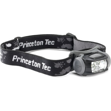 Camp and Hike The Princeton Tec Remix headlamp outputs 70 lumens to light up the trail ahead. It's an essential tool to have when backpacking or traveling. - $21.73