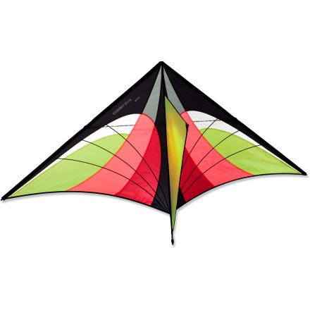 Camp and Hike The simple, user-friendly Prism Designs Stowaway Delta Kite lets you enjoy the high-tech look of a sport kite without the complication and learning curve. - $21.93