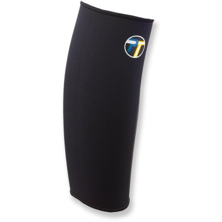 Camp and Hike The Pro-Tec Athletics Calf sleeve offers support and stabilization to reduce further strain or tearing of the calf muscle. Can help alleviate mild shin splints and warm the calf muscle to increase flexibility. Made from 3mm-thick neoprene. - $8.93