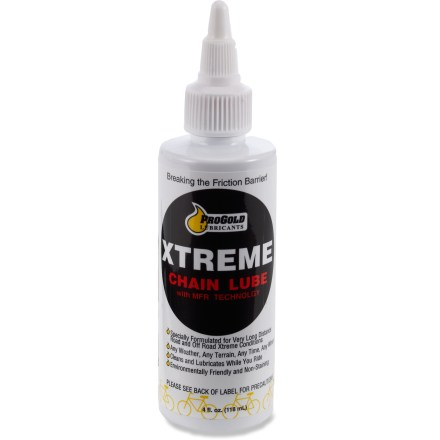 Fitness ProGold Xtreme chain lube is formulated for long distance road and off-road rides with demanding conditions, no matter the weather or terrain. - $12.00