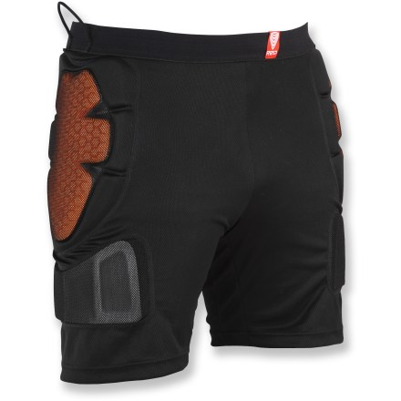 Snowboard The RED Total Impact men's shorts build extra protection right into your clothing, so you can ride confidently without extra bulk. - $46.83