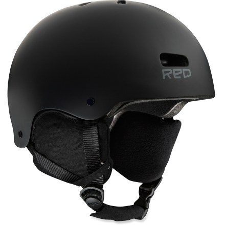 Ski From winter rails to summertime grind, the RED Trace helmet does double duty as both a snow and skate/bike helmet. Removable earpads, goggles clip and goggles gasket convert the helmet from winter to summer fun. Injection-molded, high-impact ABS shell with expanded polystyrene foam liner enhances protection; short cut promotes wide-angle vision. Compatible with REDphones(TM) helmet audio system (sold separately) for flawless audio integration on the mountain or at the park. ASTM 2040 / CE 1077B Certified for your protection. RED Trace helmet has a 1:1 fit ratio with Anon goggles, affording an airtight, seamless connection between helmet and goggles (goggles not included). - $69.95