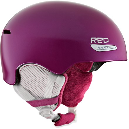 Ski The RED by Burton Pure snow helmet is designed specifically for women, and is the perfect choice for hard-charging riders. Air Pad(TM) fit system offers a one-of-a-kind custom fit with lightweight, self-inflating air pads. In-mold construction fuses a tough polycarbonate outer shell with the helmet's foam liner for lightweight, impact-absorbing protection. Airvanced Ventilation(TM) allows you to control the amount of airflow to the inner helmet; mesh lining limits the invasion of outside elements. Goggle Gasket(TM) is a windproof and breathable, fully removable shield that eliminates the gap between goggles and helmet; removable goggles clip. Quick Clip II(TM) earpads simply snap in place; pads add warmth and easily convert for multi-season use. Undercovered(TM) design feature lets you wear a beanie under your helmet while maintaining airflow; as there's no rip-and-stick in helmet interior, your hair won't stick. Compatible with REDphones(TM) helmet audio system (not included) for flawless audio integration on the mountain. ASTM 2040 / CE 1077 Certified for your protection. RED Pure helmet has a 1:1 fit ratio with Anon goggles, affording an airtight, seamless connection between helmet and goggles (goggles not included). - $84.95