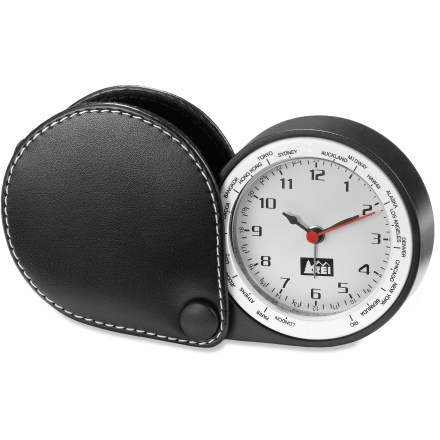 Entertainment Forget the wake-up call, this straightforward analog alarm clock is light, compact and easy to set. - $4.83