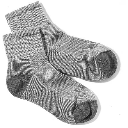 Camp and Hike The naturally wicking fibers in the REI lightweight merino wool hiking quarter socks keep your feet warm, dry and cushioned on the trail. - $12.95