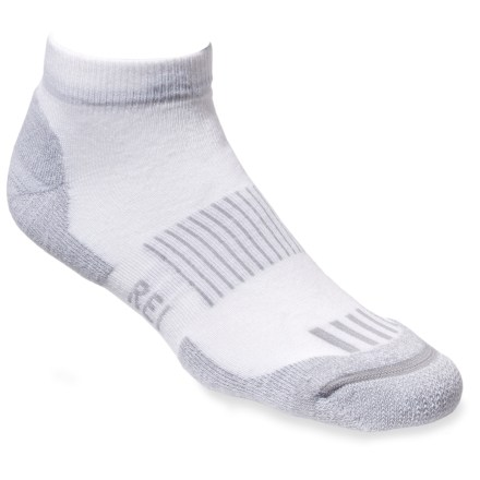 Our CoolMax EcoMadeTM multisport low socks boast the performance of synthetic fiber with the added appeal of recycled materials. - $3.83