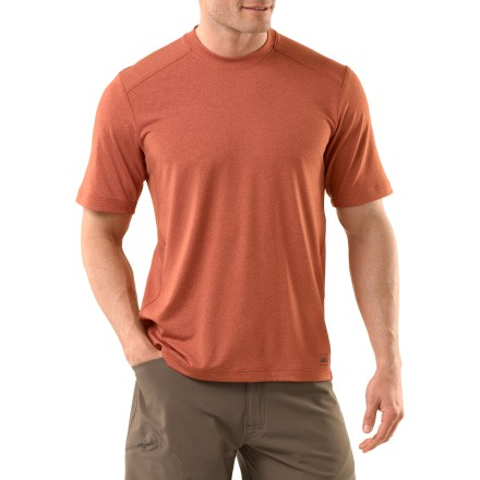 Fitness The REI OXT Tech short-sleeve T-shirt makes it easy to do your favorite activities. This great basic features a relaxed athletic fit and is perfect for both indoor and outdoor training. - $11.83